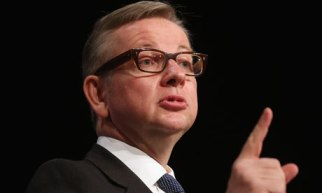 The messianic minister: Michael Gove. Not good with statistics