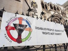 DPAC disability against cuts