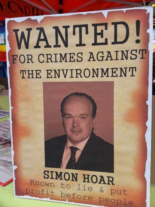 Wanted - Simon Hoar