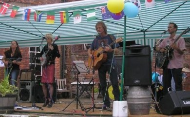 There's folk and blues all day long at Rusking House next Saturday