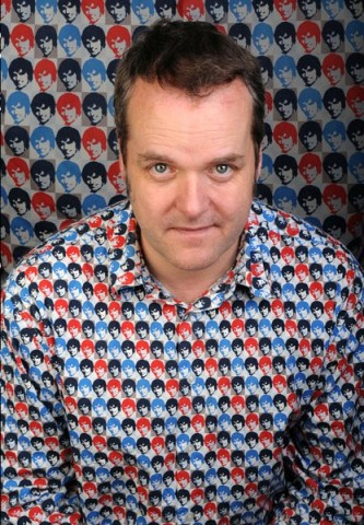 Wearing his Saturday Best: comedian Kevin Day. Photograph by Steve Ullathorne