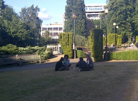 Queen's Gardens: this might be the last summer when residents can enjoy its oasis of greenery in central Croydon