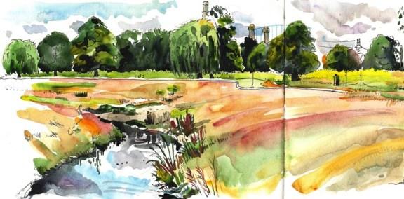 Wandle Park by Lis Watkins