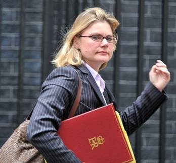 Rwandan discussions: Justine Greening said she was so deep in conversation, she never heard the division bell to vote
