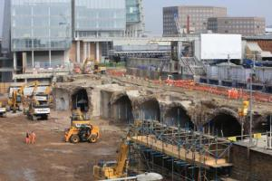 Some of the demolition work that has been going on at London Bridge this summer. There's more to come