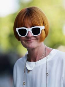 "In disguise: maybe Mary Portas does not want to be recognised as a ""High Street guru""?"