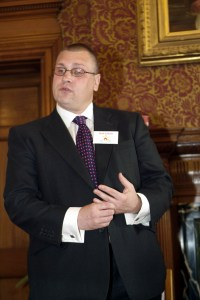 Rob Elliott: partner of Councillor Simon Hall, and featured on the