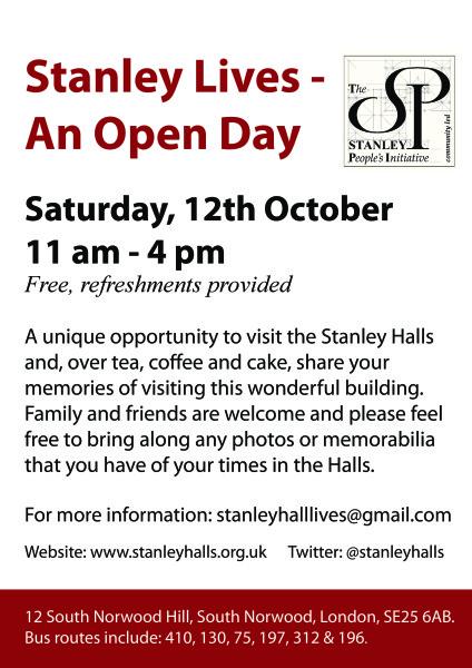 Stanley Halls Open Day