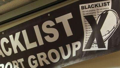 Blacklist banner