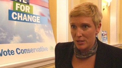 Charlotte Vere: strong candidate and leader in Inside Croydon's online poll with 37%