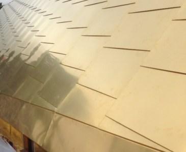 Golden cladding