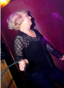 Baaad girl: Granny Sheep on one of her clubbing nights