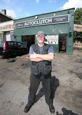 Richard Hough, as pictured in this week's Croydon Guardian: not a media tart at all