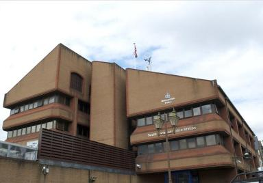The police station building at South Norwood: the local MP says that instead of being flogged off for flats, the site should be used to provide much-needed school places