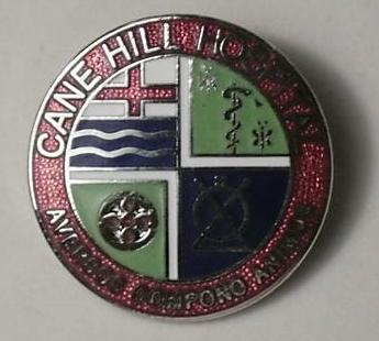Cane Hill Hospital badge