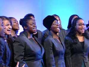 Going for some songs: the Croydon Gospel Choir is celebrating its 35th anniversary with a British tour