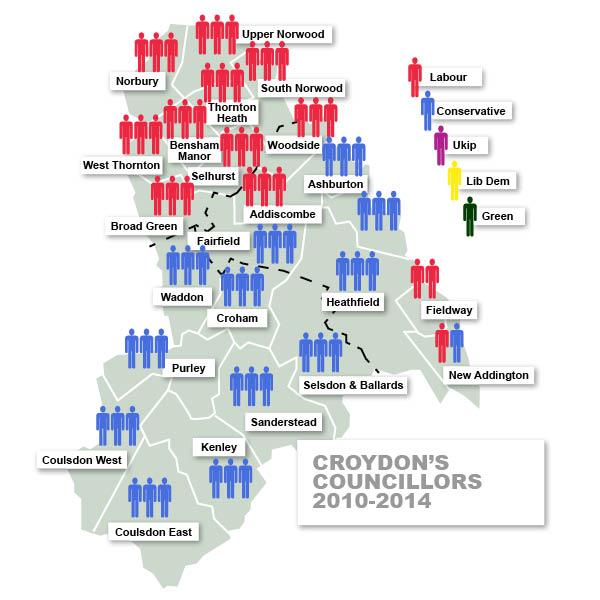 Croydon's councillors 2010-2014