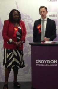 New Addingtons new councillors, Louisa Woodley and Oliver Lewis