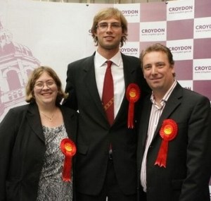 Ashburton councillors Maddie Henson, Steven and Andrew Rendle