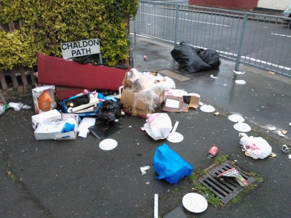 Thornton Heath street scene, June 2