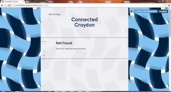 Unconnected Croydon