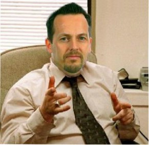 Croydon Council CEO and returning officer  David Brent: any resemblance to Nathan Elvery is entirely coincidental