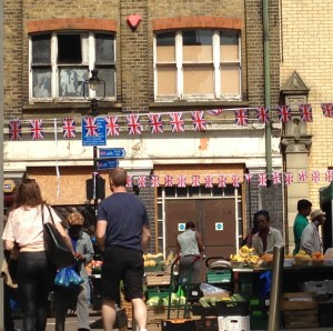 The bunting is out: but does it make any real difference to Surrey Streets established traders?