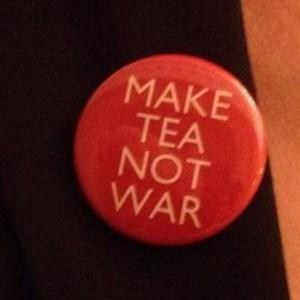 A favourite slogan of Tony Benn
