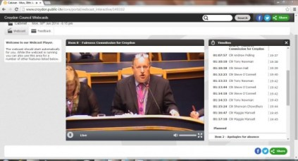 Croydon Council's first webcast meeting for nearly eight years happened within days of Labour taking charge