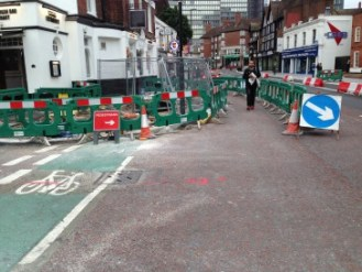 Space for cycling? Not after the improvements works on South End have been completed