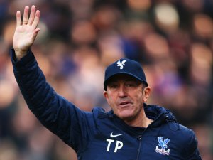 I'm off: Tony Pulis last night could not be persuaded to stay on as Palace manager