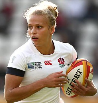 Kay Wilson: one of the country's first professional women rugby players