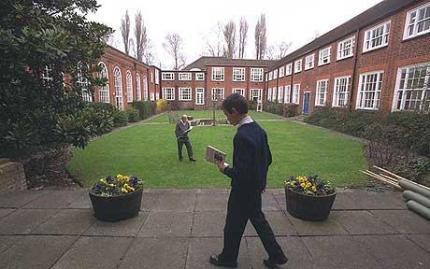 Wallington County Grammar, where Jack Barwell starts this week. It is not in Croydon