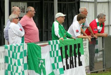 Whyteleafe's travelling fans: following local non-league sides often requires dedication
