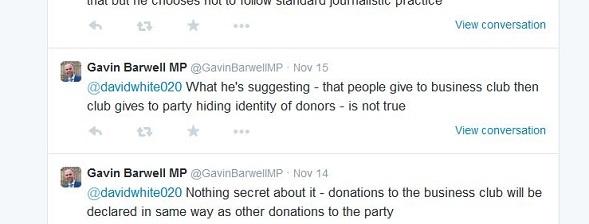 Barwell business club tweet