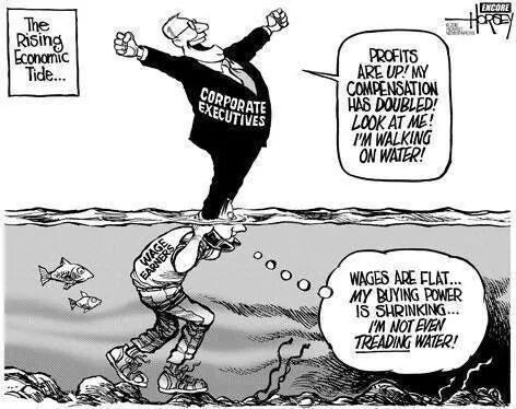 Economic recovery cartoon
