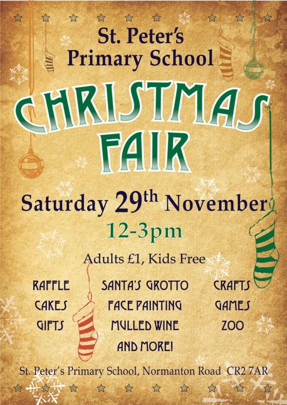 SPSA Christmas Fair poster 2014_2
