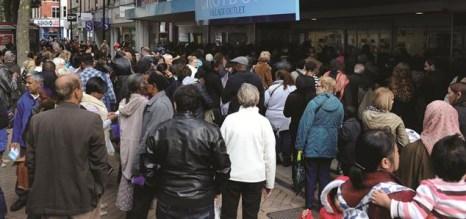 Croydon crowd