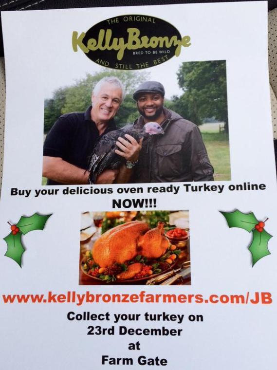 JB Gill turkey