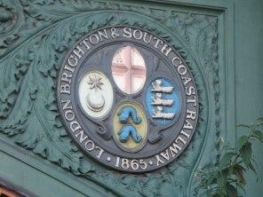LBSCR sign 1865 East Croydon