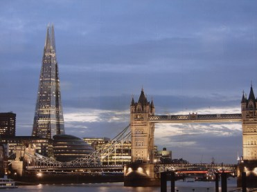 London landmark The Shard: cheaper to build, per square metre, than Fisher's Folly