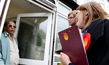 Labour's Croydon Central candidate Sarah Jones: knocking on doors was not enough for Labour