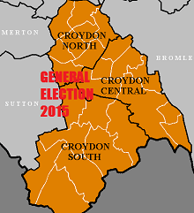 2015 General Election Croydon Constituencies