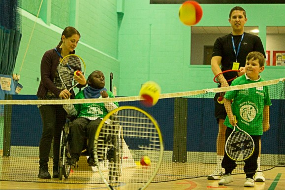 The Primary Sports Camp was staged this week, responding to demand for more sports competition following the 2012 London Paralympics
