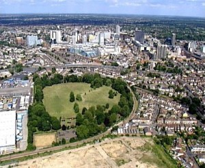 Improving access to Wandle Park is getting £58,000. Building a motorway through Duppas Hill Park is getting £87 million
