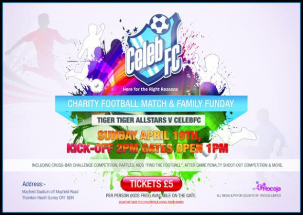Celeb football match
