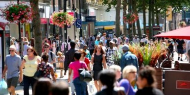 Is there any economic plan for Croydon outside of a shopping centre?