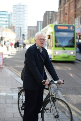 Christian Wolmar: transport expert has battled his way on to Labour's shortlist