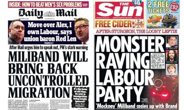 Unbiased and objective coverage of the unaligned Daily Mail(prop. a non-dom)  and Sun (prop. Murdoch)