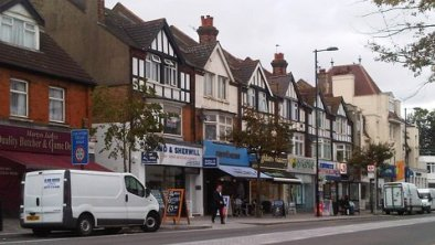 Coulsdon High Street: much-improved, according to Lewis White